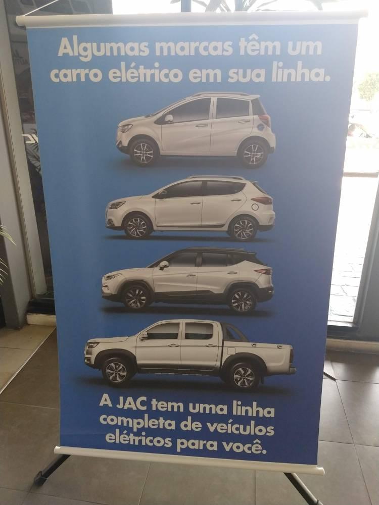 Lançamento 5 modelos 100% elétricos JAC Motors, Brasil.iEV 20, iEV 40 e iEV 330P. Test-drive. Sergio Habib, presidente do Grupo SHC e da JAC Motors Brasil. Veiculo elétrico.   [156876791215687679129851527684.jpg]
