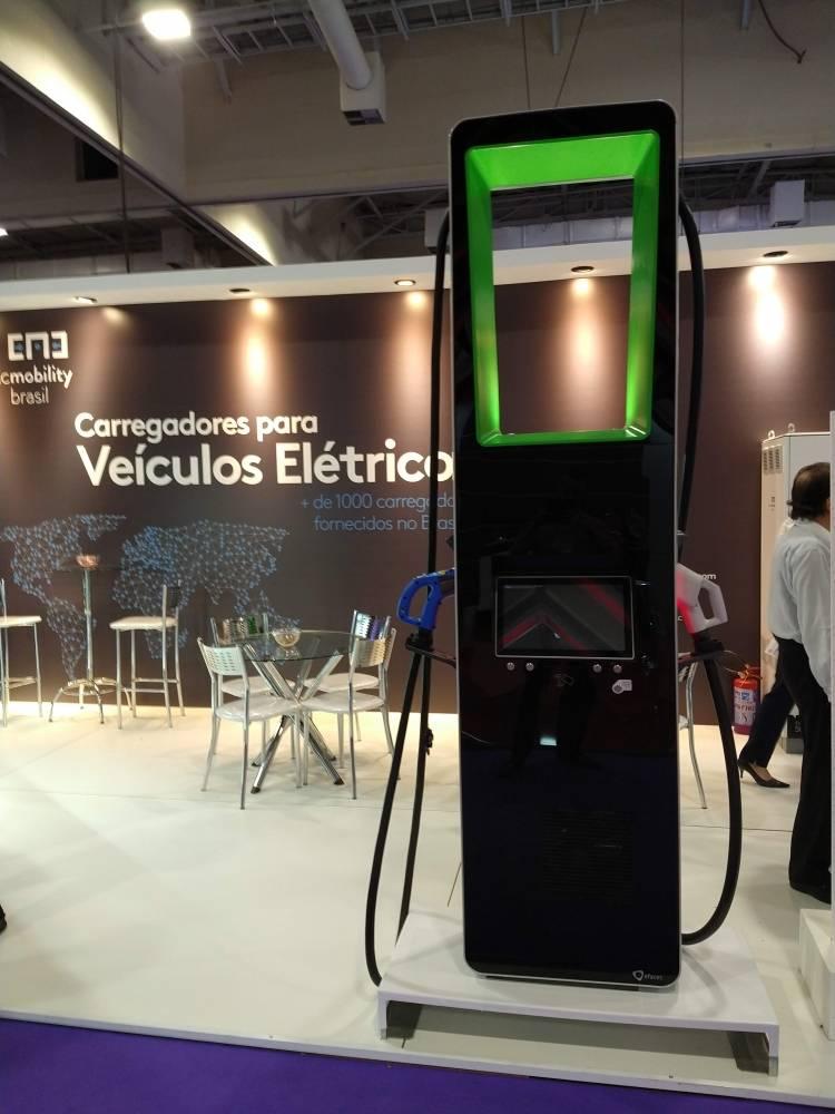 15º congresso 'VE América Latina'. No encontro, montadoras de veículos elétricos, componentes e novas tecnologias se apresentaram.  [15702371721570237172827792636.jpg]