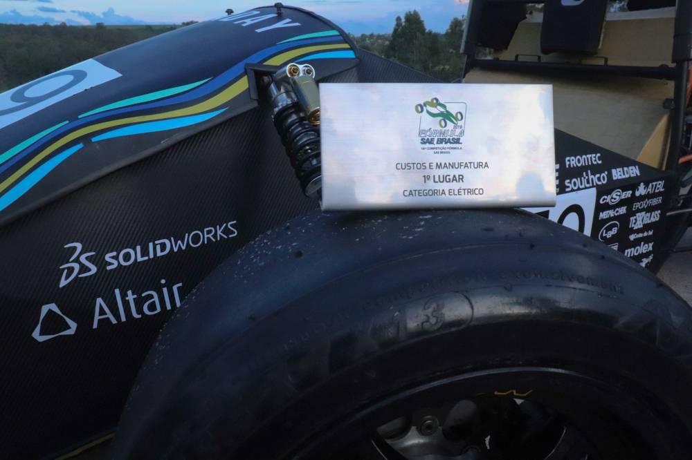 A Faraday E-Racing é uma equipe de competição que tem como objetivo projetar e contruir um protótipo elétrico do tipo fórmula nos padrões da Fórmula SAE Brasil. [160458730816045873083226168330.jpg]