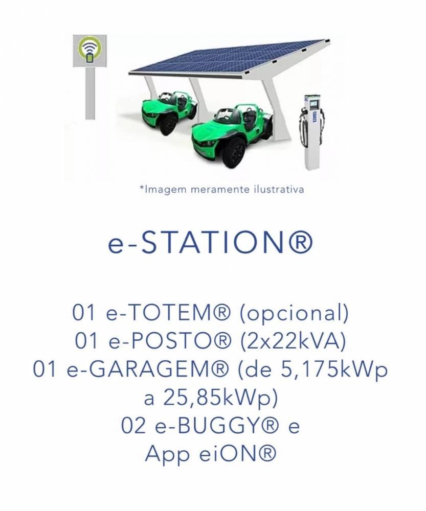 Franquia da mobilidade sustentável - eiON mobilidade sustentável.  Inovação, sustentabilidade e oportunidade de negócio. A eiON oferece um mix de posto de combustível que gera seu próprio combustível, com um quiosque de compartilhamento de bugues elétricos controlado por um aplicativo. [16164636431616463643594766806.jpg]
