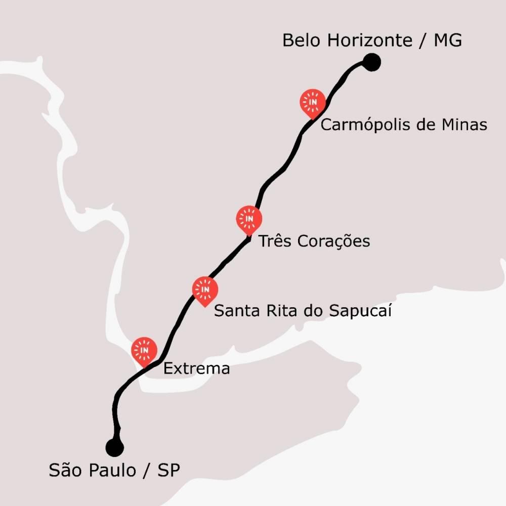 Iniciativa sensacional: Eletrovia Fernão Dia - Incharge - ligando São Paulo a Belo Horizonte. 3 estações de 22kW que permitem a viagem entre as capitais em modo elétrico. Além de outras 2 estações de apoio tático em Santa Rita do Sapucaí. [160185548016018554804665273634.jpg]