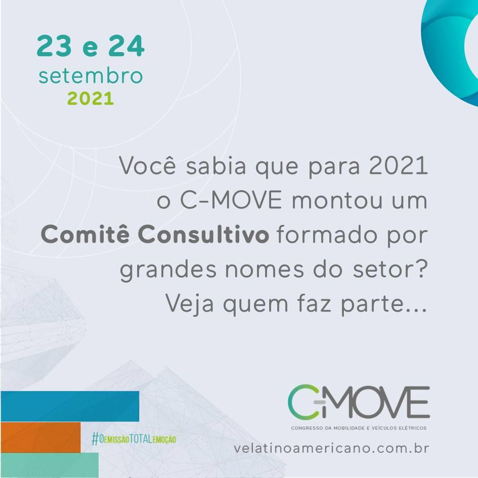 O C-MOVE é o braço de conteúdo do VE Latino Americano e para 2021 reunimos grandes nomes do setor para formar o Comitê Consultivo do Congresso.  Eles nos ajudarão a decidir os temas e selecionar palestrantes para que o congresso seja um sucesso!  [162095609716209560979178234752.png]