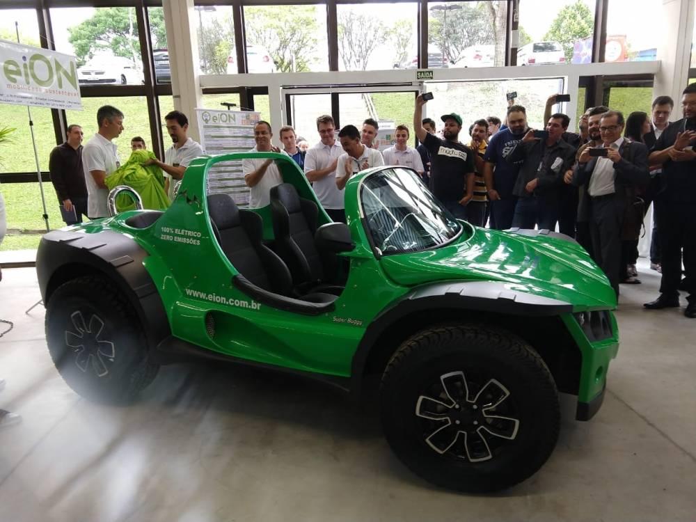 Franquia da mobilidade sustentável - eiON